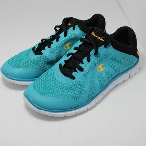 Champion Womens size 5 running shoes Blue Sneakers